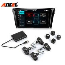 Pressure-Monitoring-System Ancel Android TPMS Tire-Pressure-Gauge Digital-Display-Monitor