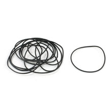 Uxcell 10 Pcs 1Mm Cross Section Industrial Rubber O Rings Seals Id .   31mm   32mm   33mm   36mm   38mm   41mm   44mm   48mm