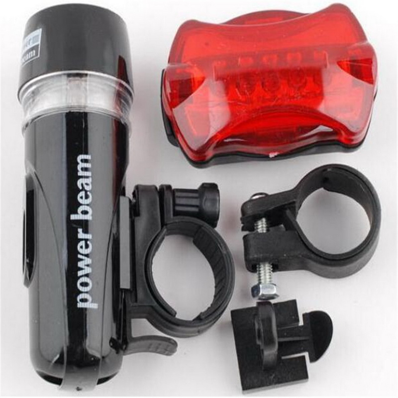 Bicycle Accessories Power Beam Bike Led Flashlight & Butterfly Bike LED Taillight