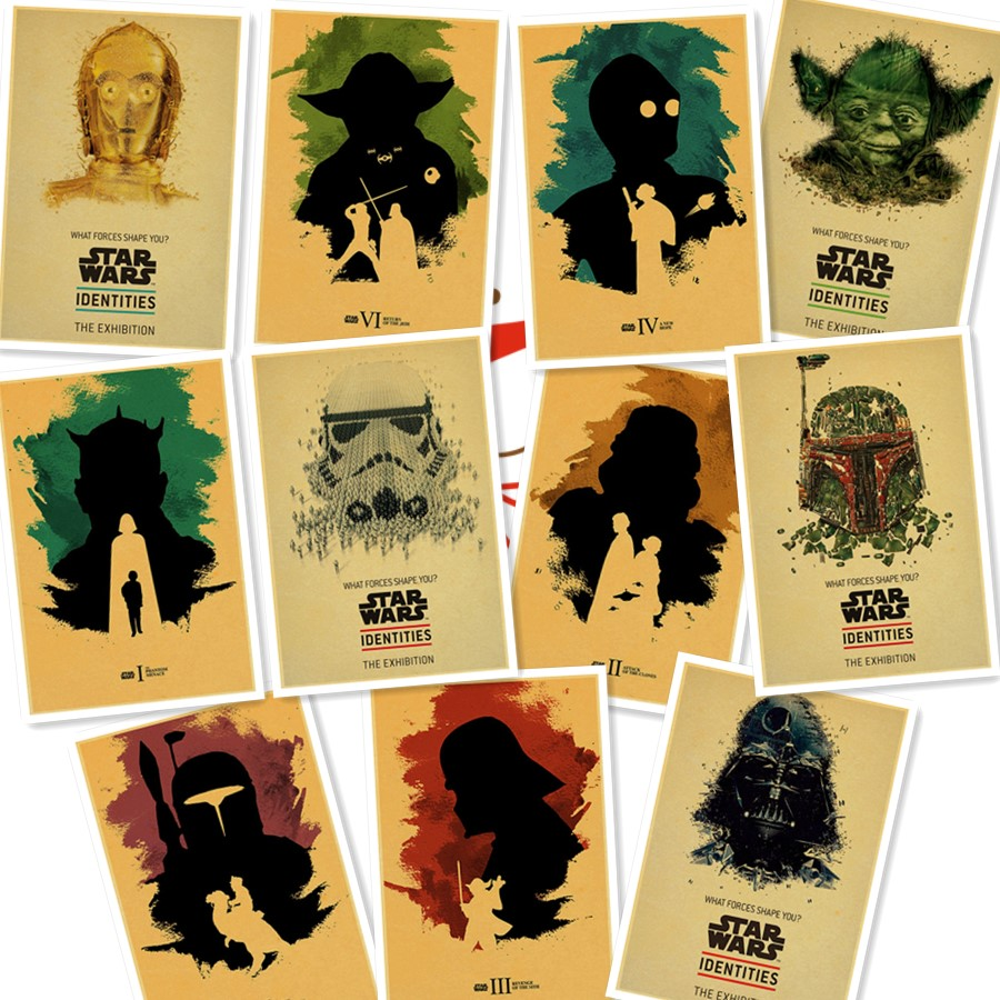 Vintage Star Wars Poster i want you Retro art Wall home Decoration ...