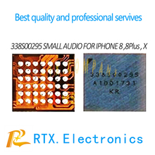 1-100pcs 338S00295 for iPhone 8 8Plus X 10 small audio IC mi