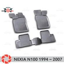 Коврики для Daewoo Nexia N100 1994 ~ 2007 Нескользящие полиуретановые предохранение от грязи интерьерные Аксессуары для автомобилей