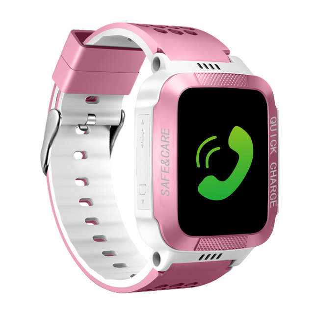 IYURNIXNUHS Touch Screen Smart Watch with Camera Flashligh SOS Call Location Device Tracker for Kid Monitoring YS21S 3