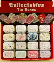 цена на 32pcs/box Cartoon Dance Girl print Tin Box Metal Coin Saver Small Jewerly Case Pill case 16 designs Chocolate Box