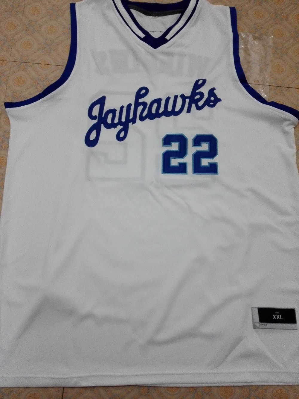 ad339d138d8 22 stitched adidas mens white retro authentic college basketball  22 andrew  wiggins jerseys kansas jayhawks basketball jersey whitebluecustom any ...