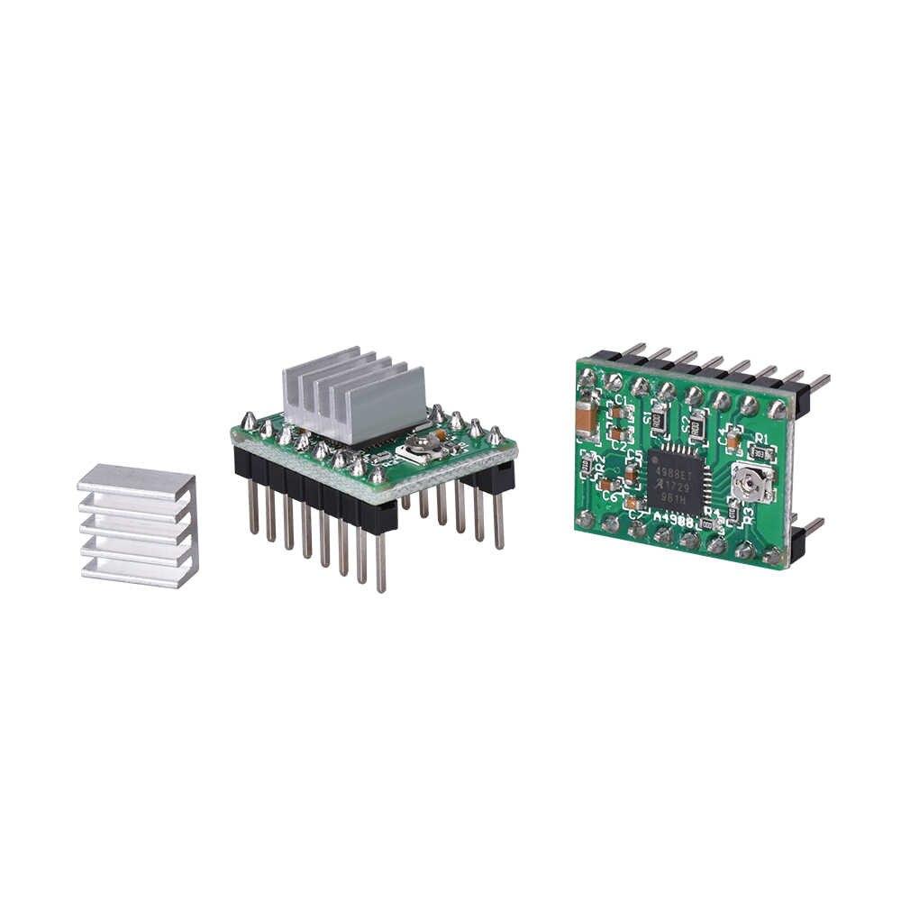 3D ชิ้นส่วนเครื่องพิมพ์ A4988 DRV8825 Stepper มอเตอร์ความร้อนสำหรับ SKR V1.3 1.4 GTR V1.0 RAMPS 1.4 1.6 MKS GEN V1.4 BOARD