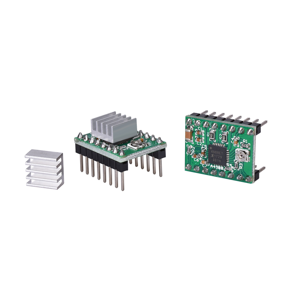 Stepper Motor Driver With Heat sink as 3D Printer Parts with Built-in Regulator 5
