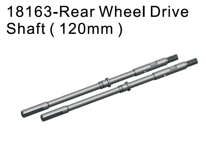 18163 rear wheel drive shaft 120mm for 1 10 rgt crawler 18000