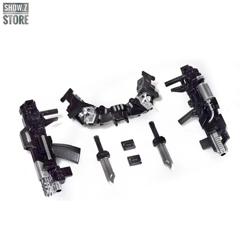 [Show.Z Store] DNA Design DK-12 DK12 Upgrade Kit For MPM-06 MPM06 Ironhide Transformation Action Figure