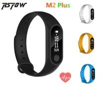 Rsfow оригинальный Смарт Браслет M2 плюс Фитнес трекер Android браслет сердечного ритма Мониторы для iOS и Android