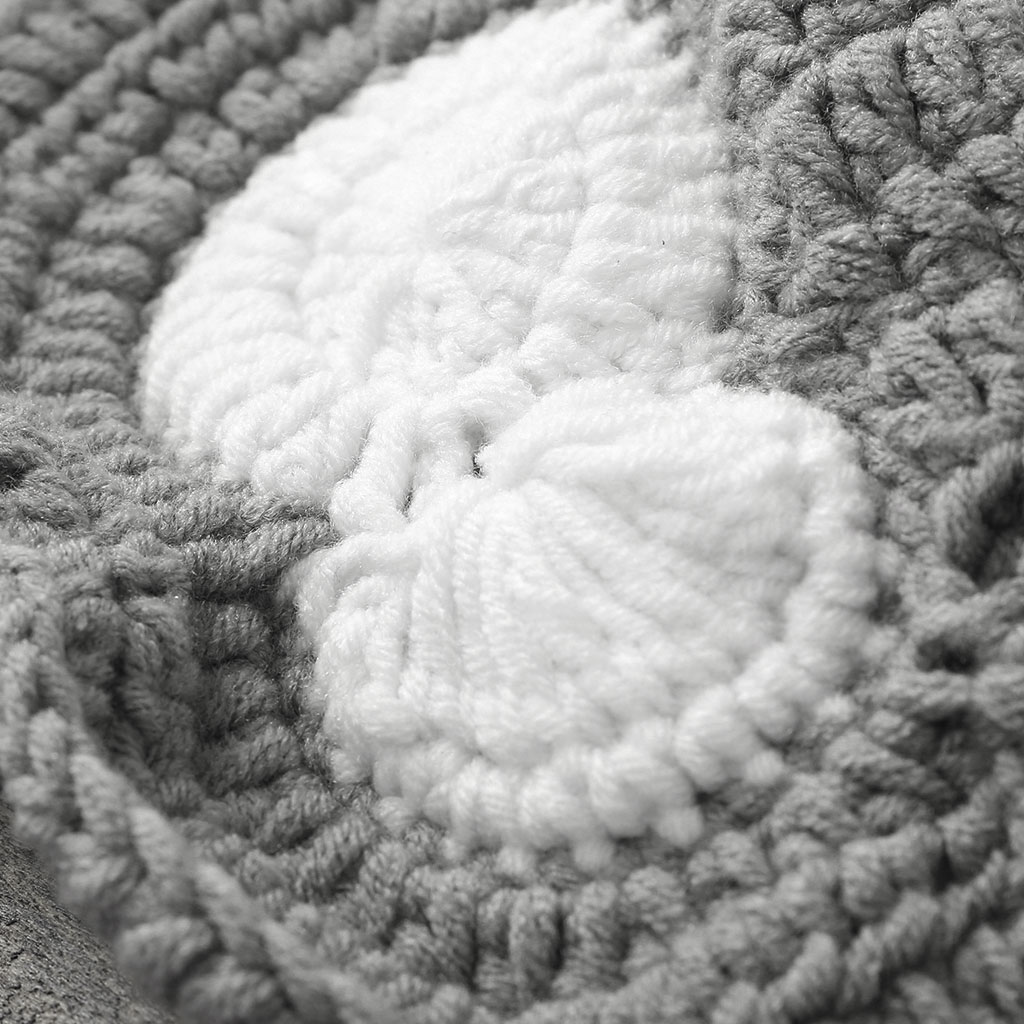 Bebé Animal elefante Bowknot Photo Prop Crochet Knit lana sombrero ...