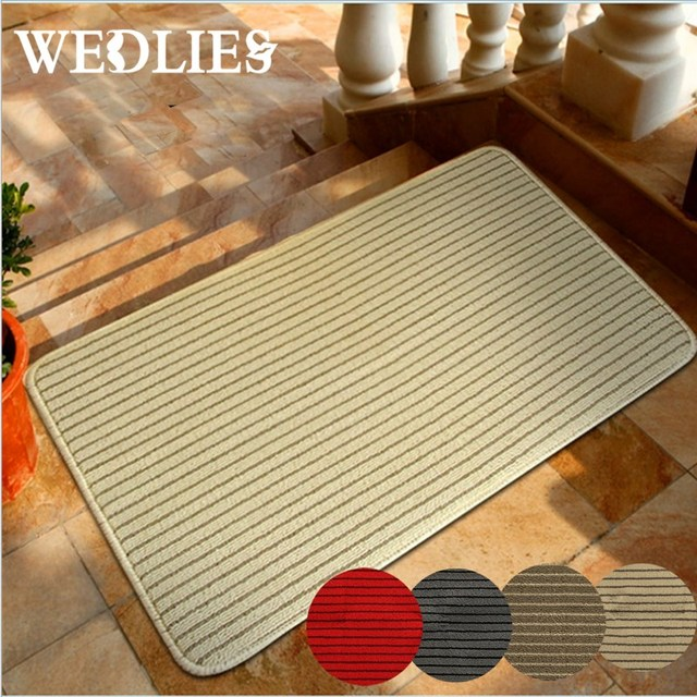 Mat Anti Slip Linen Kitchen Absorb Water Carpet Home Doormat Bath Bathroom Rugs Absorbent Soft Toilet 60 40cm
