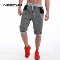 Men S 2017 Calf Length Shorts Casual Joggers Bermuda Elastic Cuff Short Sweatpants Male Tracksuit Bottoms