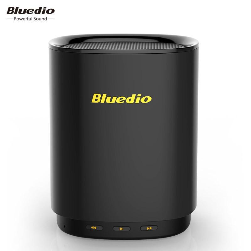 Bluedio TS5 Mini Altavoz Bluetooth altavoz inalámbrico portátil sistema de sonido con micrófono apoyado Control de voz altavoz