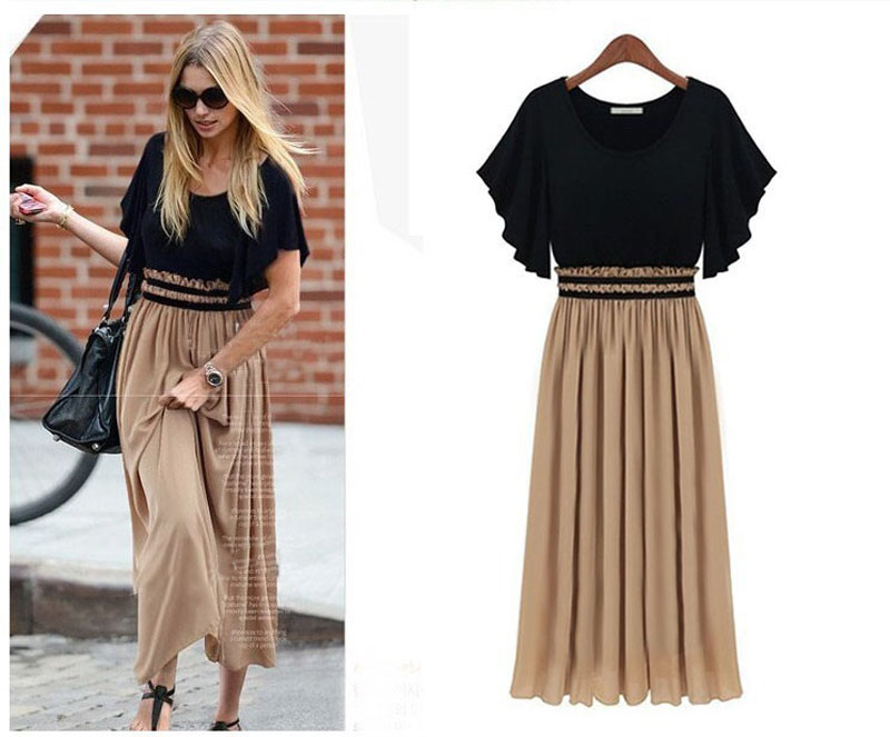 Summer Women Short Sleeve Vintage Dress 2019 O Neck Party Vestidos Sexy A Line Spring Short