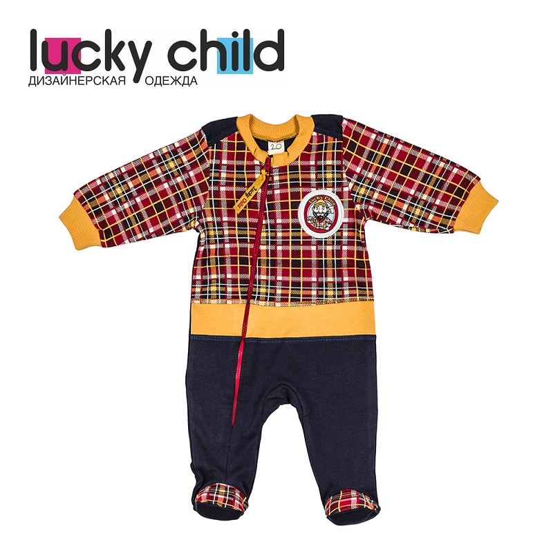 цены Jumpsuit Lucky Child for boys 27-13f Children's clothes kids Rompers for baby