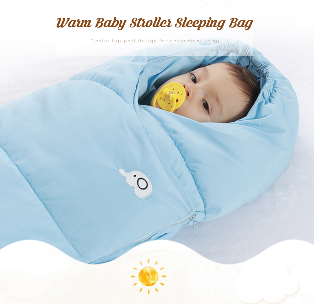 Creative Baby Stroller Sleeping Bag Warm Swaddle Quilt Blanket Wrap Sleep Sack Stroller Accessories Anti Cold Child Baby Winter Leg Cover Activity & Gear Strollers Accessories