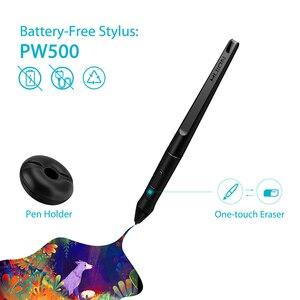 Image 2 - قلم EMR بدون بطارية HUION PW500 8192 مستوى لأقراص القلم الرسومات الرقمية مع اثنين من مفاتيح مخصصة الجانبية