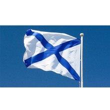 3ft X 5ft /Russian Navy Flag Saint Andre /Russian Navy Flag Banner 150x90cm Big Flag For Celebration