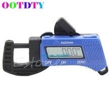 Buy OOTDTY 0-12.7mm Carbon Fiber Composites Digital Thickness Caliper Micrometer Guage APR15_35