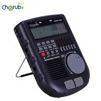 Cherub WRW 206 Drum Metronome Professional Multiple Metronome Sounds Loop Play Function Amp Simulator Drum Trainer in stock