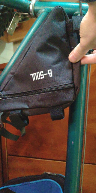 Waterproof Triangle Bike Bag Bicycle Bag Pouch Cycling Front Tube Frame Bag Saddle Holder MTB Mountain Bike Cellphone Accessory