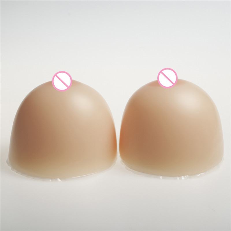 Buy 2800g/pair Classic Round Silicone Boobs Breast Forms 46E/48DD/50D Drag Queen Shemale Transgender Fake Breast Enhancer