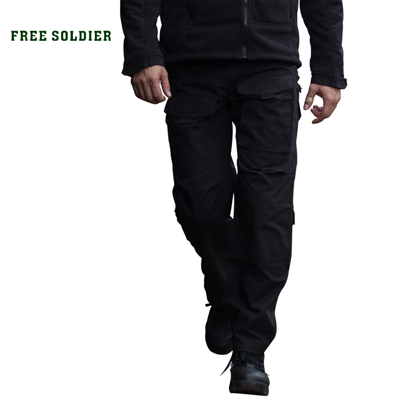 FREE SOLDIER Outdoor Sports Tactical Military Men's Pants Multi Pockets Trousers outdoor sports pockets sv012199