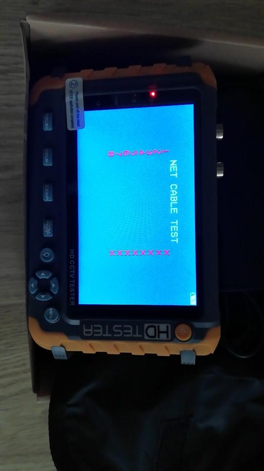 新しい5インチTFT LCD HD 5MP TVI AHD CVI CVBS 8つのCCTVテスターのアナログセキュリティカメラテスターモニターVGA HDMI入力IVXNUMXW