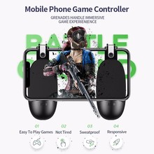 New PUBG Game Controller Gamepad ABS PC L1 R1 Trigger Button