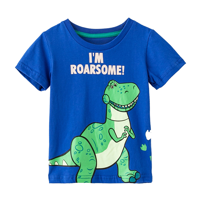 NEW ROARSOME DINOSAUR 100 /% COTTON BOYS TOP LONG SLEEVE T SHIRT SIZE 3,4,5