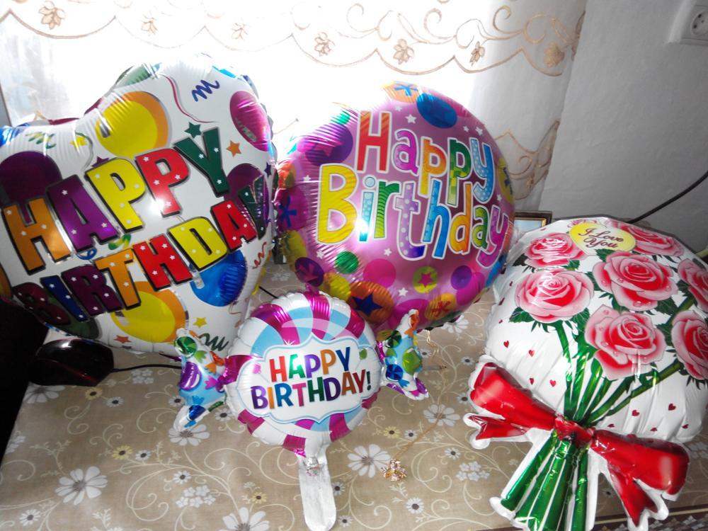 Xxpwj Бесплатная доставка Новый 1 шт. Фольга алюминиевые воздушные шары с днем рождения Оптовая продажа; детская одежда игрушки Свадебная вечеринка a-003