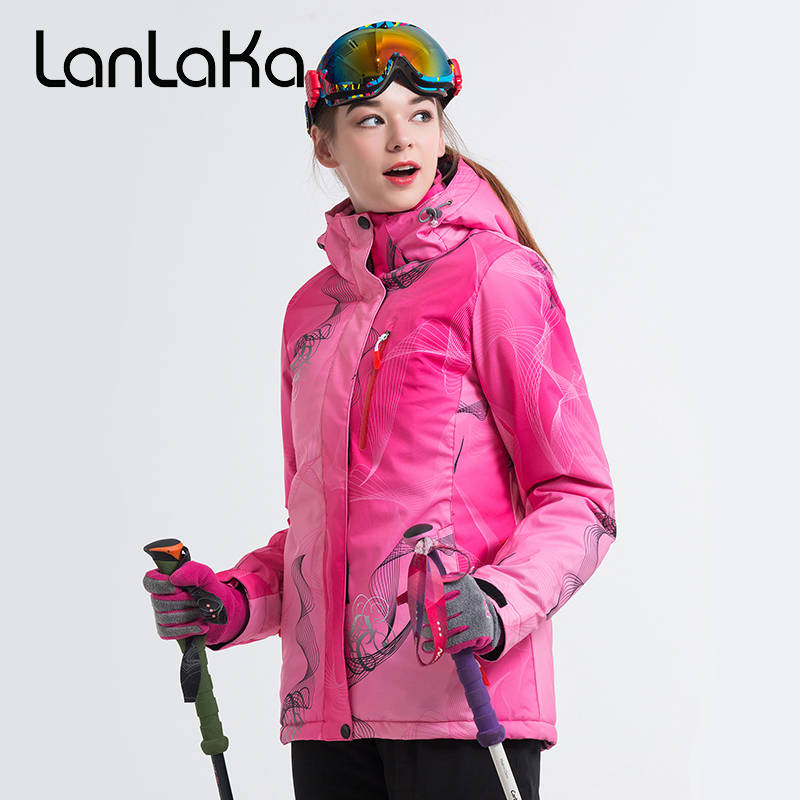 2018 Women Ski Jacket Snowboard Jacket Windproof Waterproof Outdoor Sport Wear Skiing Riding Jacket Super Warm Winter Jacket New professional ski jacket women windproof waterproof winter warm outdoor sport snow wear snowboard jacket camping outdoor brand