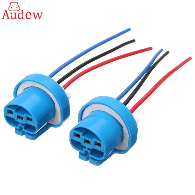 2pcs 9007 9004 female wire connector wiring harness pigtail plug rh aliexpress com wiring harness pigtail 3 pin wiring harness pigtail fo 06 jeep wrangler