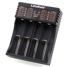Liitokala Lii-402 Lii-202 100 18650 charger 1.2V 3.7V 3.2V 3.85V AA / AAA 26650 10440 16340 NiMH lithium battery smart