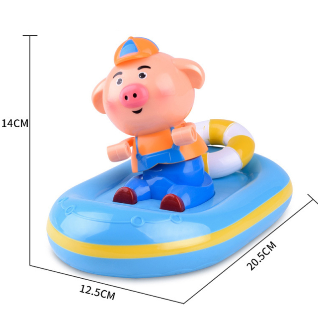YETAA Clockwork Bathroom Cartoon Baby Bath Shower Toys
