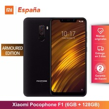 [Глобальная версия для Испании] Xiaomi Pocophone F1 бронированный Edition (встроенная память de 128 GB, Оперативная память-де-6 Гб Камера 12MP + 5MP) мовиль