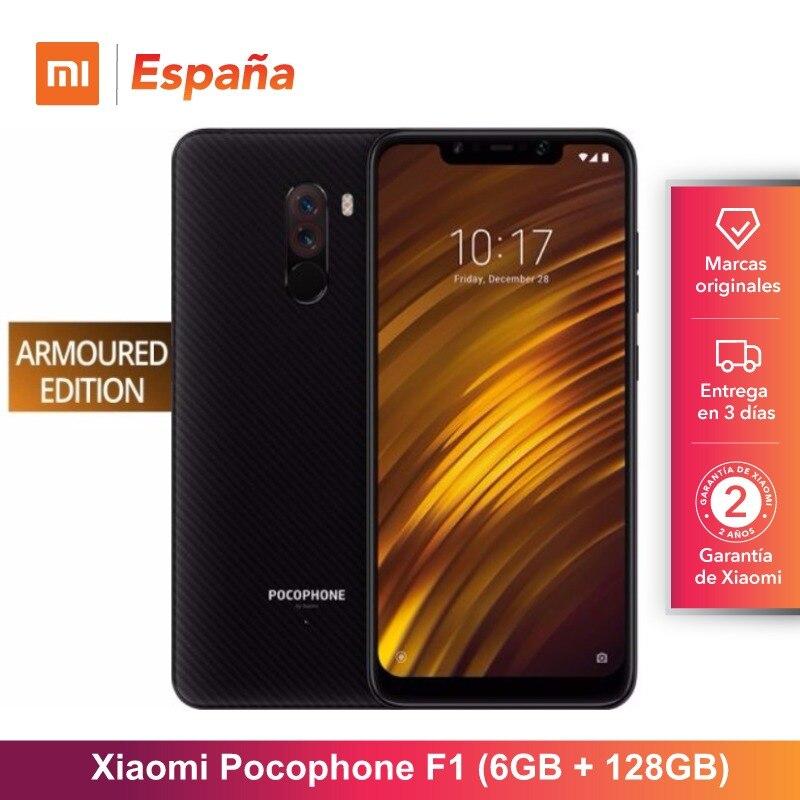 [Versão Global para a Espanha] Xiaomi Pocophone F1 Edição Blindada (Memoria interna de 128 GB, RAM de 6 GB Camara 12MP + 5MP) Movil