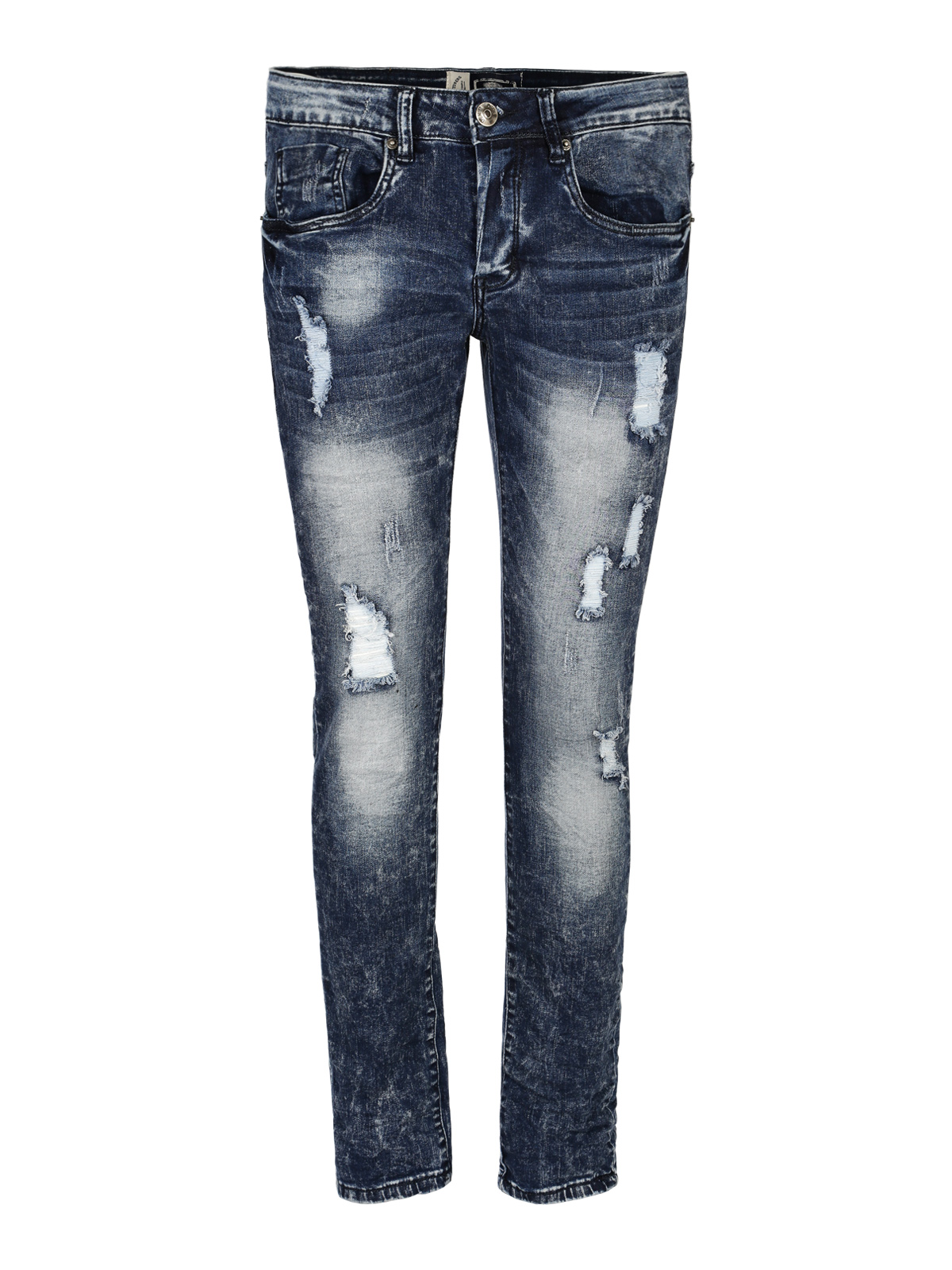 Ripped Jeans-effect Washed