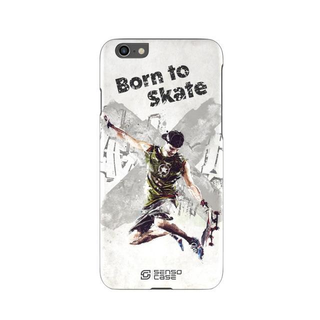 Защитный чехол SensoCase Скейтбординг для Apple iPhone