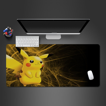 Lovely Pokemon Anime Mouse Pad High Quality Pikachu Gaming Accessories Mouse Mat Office Computer Keyboard Mause Pad Gamer  action figure pokemon