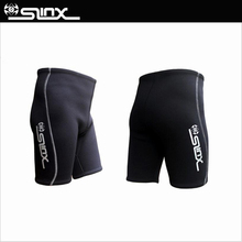 SLINX Authentic 2mm Neoprene Men Thicken Scuba Diving Shorts Swimming  Waterskiing Training Wetsuit Drift shorts