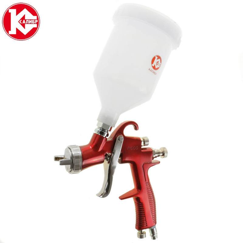 Kalibr KRP-1.5/0.6VB PROFI Pneumatic Spray Gun Automobile Sheet Metal Small Area Repair High Atomization Paint Painting Tool kalibr ekrp 350 2 6m electric spray gun latex paint airbrush paint spray gun