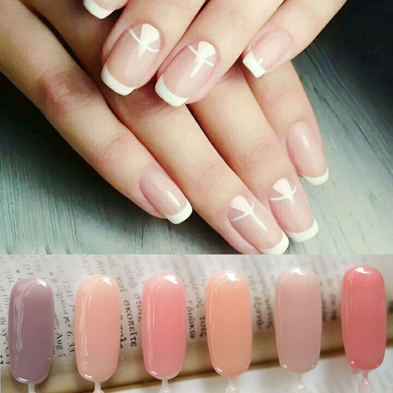 Pvadcol 7ml Nail Gel Translucent Jelly French Nails Varnish Soak Off Uv Polish In From Beauty Health On Aliexpress Alibaba Group