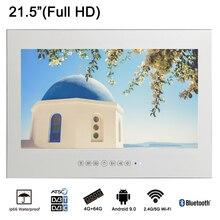 Souria 21,5 Дюймов Full HD 1080 P Android Smart исчезающее стекло зеркало водостойкое ТВ с LAN и интегрированный Wi-Fi