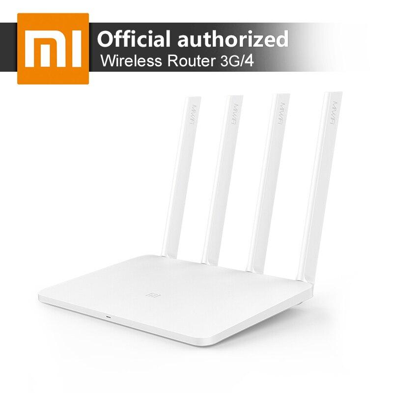Xiao mi mi routeur wifi sans fil 3G/4 867 Mbps répéteur wi-fi 4 1167 Mbps 2.4G/5 GHz Double 128 MB Bande Flash ROM APP Contrôle
