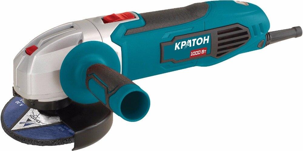 Angle grinding machine Kraton AMG-1000-125 grinding machines orbital zubr sosm 450 125