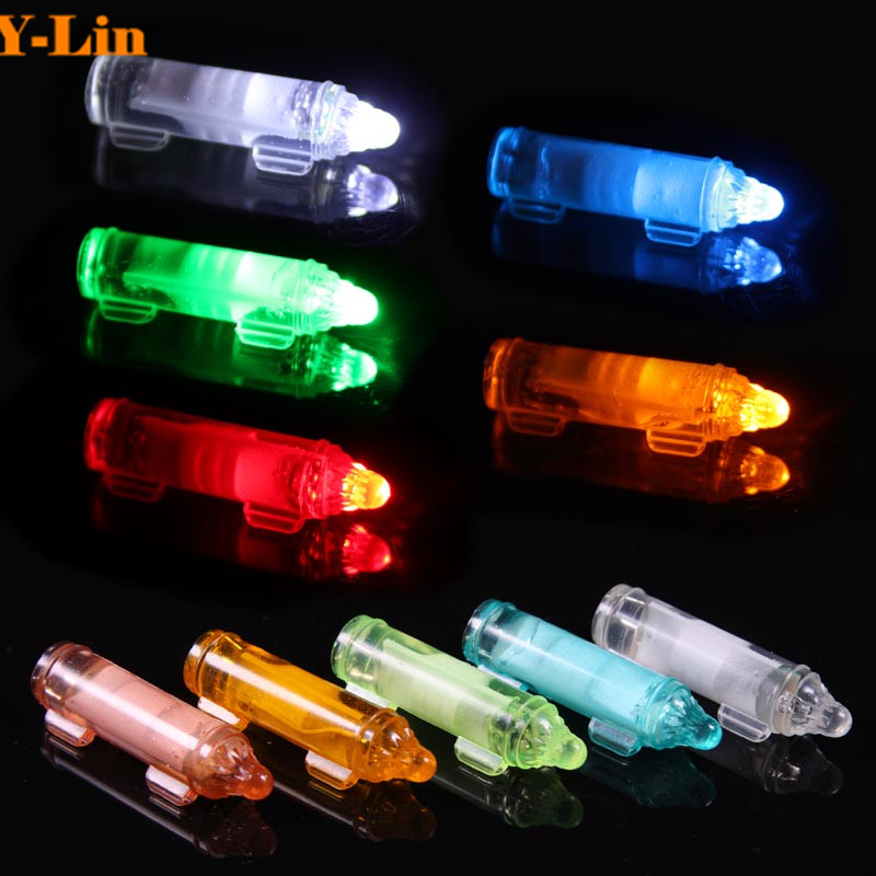 LED fishing light deep drop underwater lamp attractive light flash Fish Attracting Lure LED Fishing Flash Fibre Light Bait