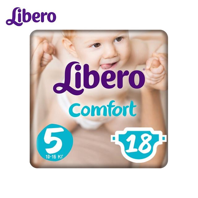 Подгузники Libero Comfort Size 5 (10-16 кг), 18 шт.