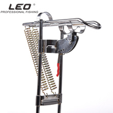 LEO High Strength Automatic Auto Fishing Rods Tackle Rod Holder Upgraded Spring Thickened Steel Automatic Fishing Tool